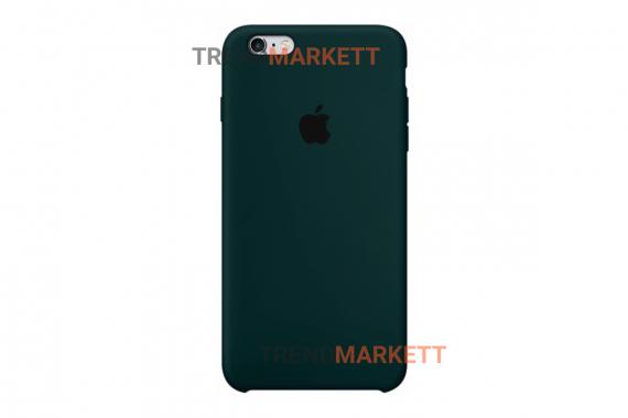 Силиконовый чехол (Silicon case) для iPhone 7/8 Зеленый